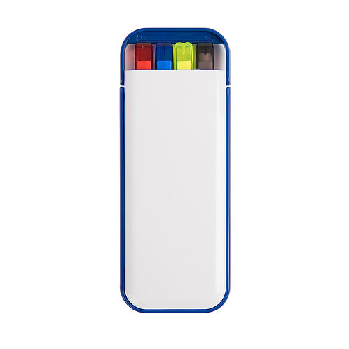 Набор Color: две цветные ручки, карандаш и маркер