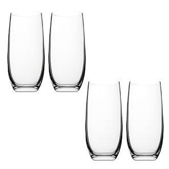 Набор Sirocco: 4 стакана для напитков