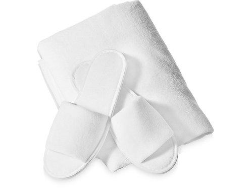 Подарочный набор Ume: полотенце и тапочки