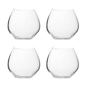 Набор Rund: 4 стакана округлой формы