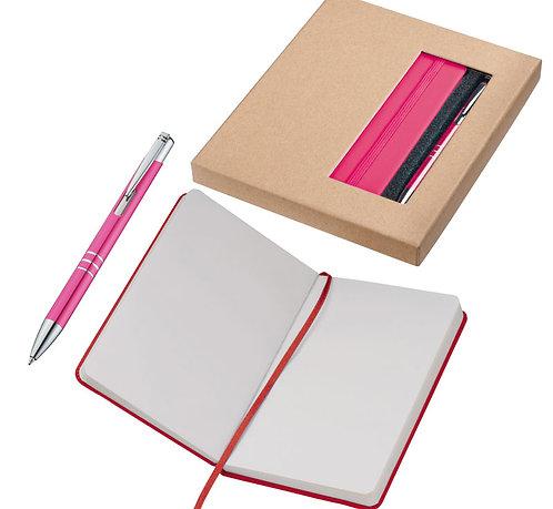 Набор Notion: шариковая ручка, блокнот формата А6