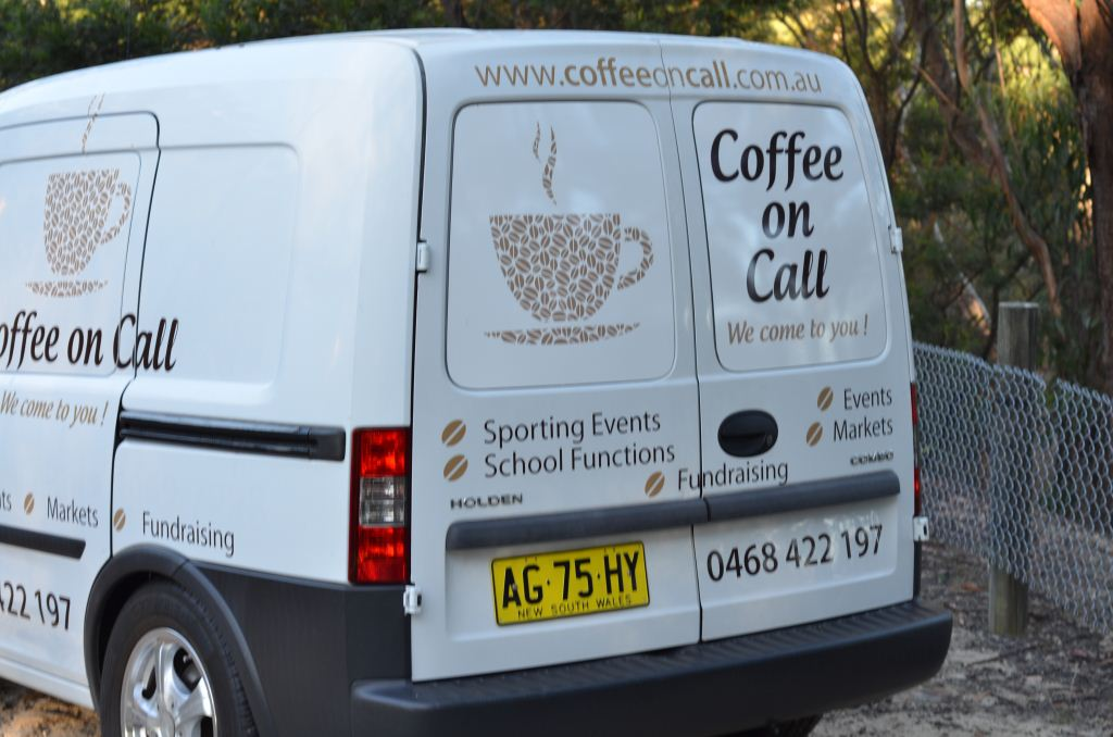 Coffee on Call Van