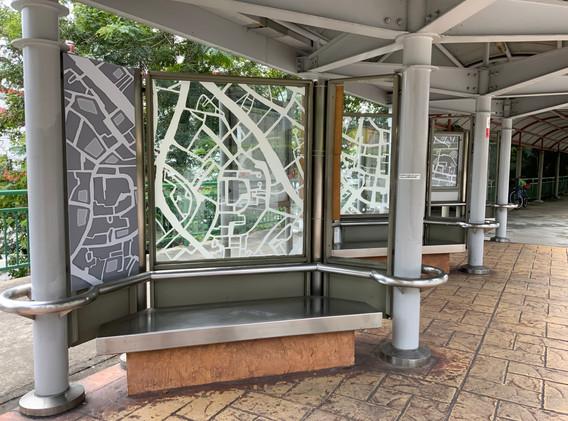 Bus stop Art