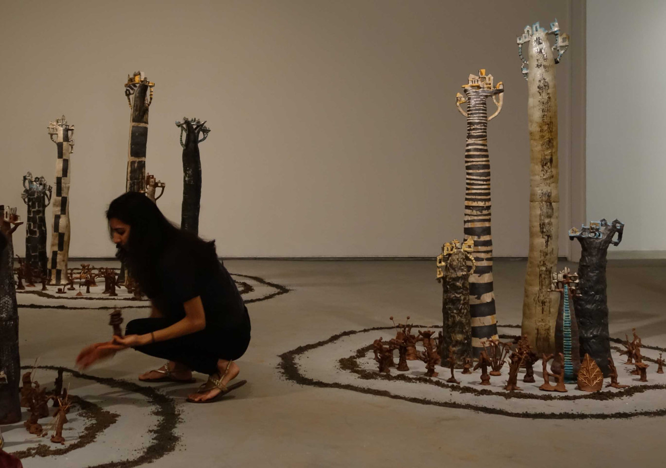 Forest: Installation at Gallery Chemould, Mumbai