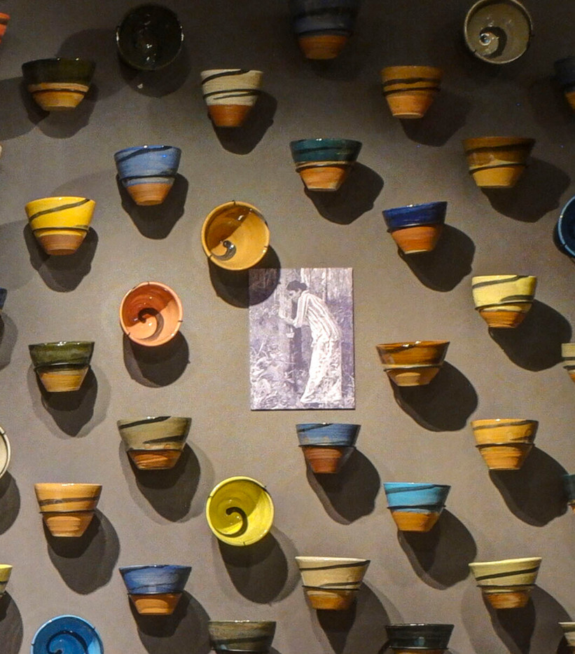 Ode to the Unknown: Stoneware and archival images