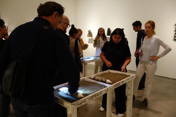 Participatory Installation, Mapping Memory Gallery Chemould, Mumbai