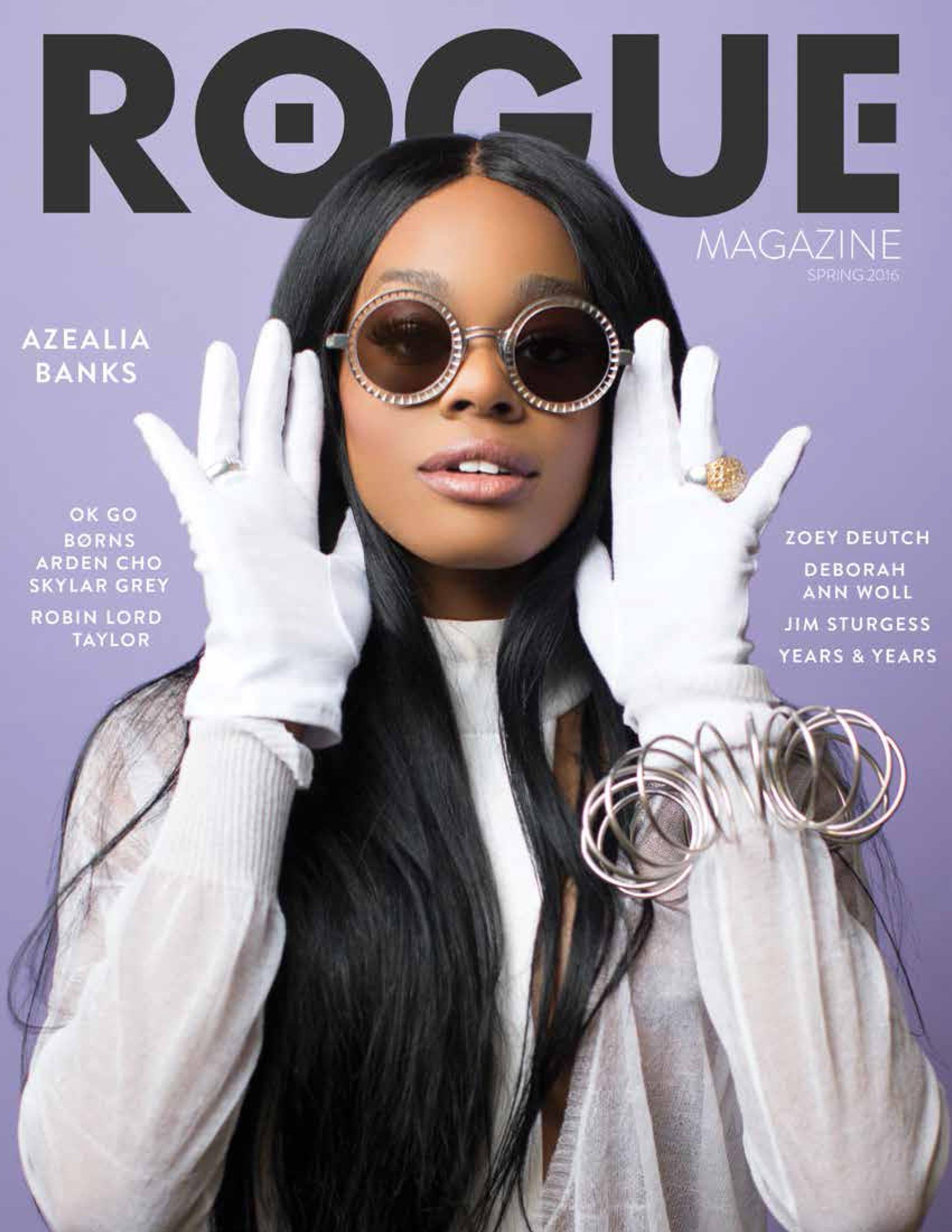 ROGUE Magazine Cover