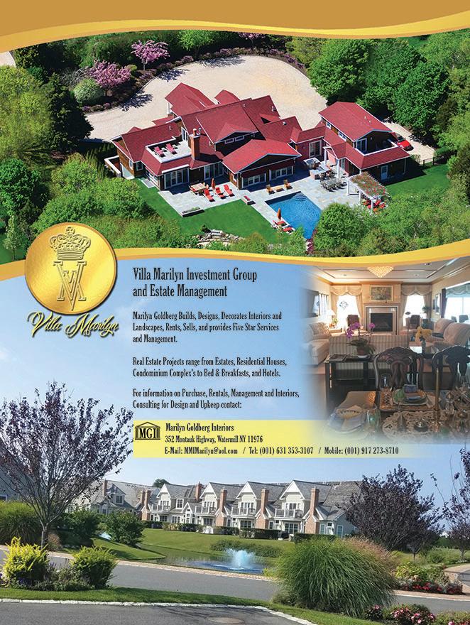 VILLA MARILYN Real Estate Ad