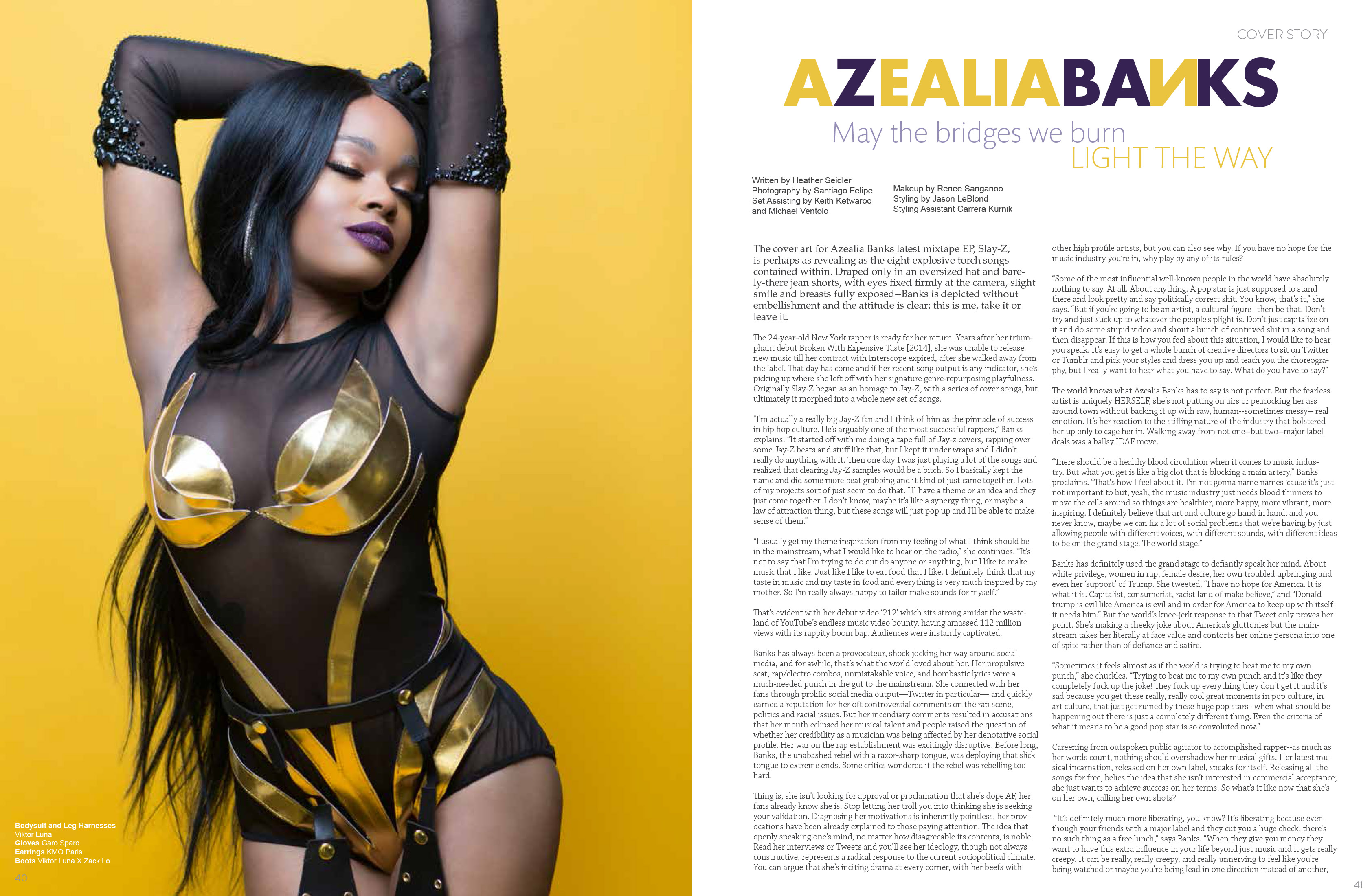 ROGUE Magazine Editorial