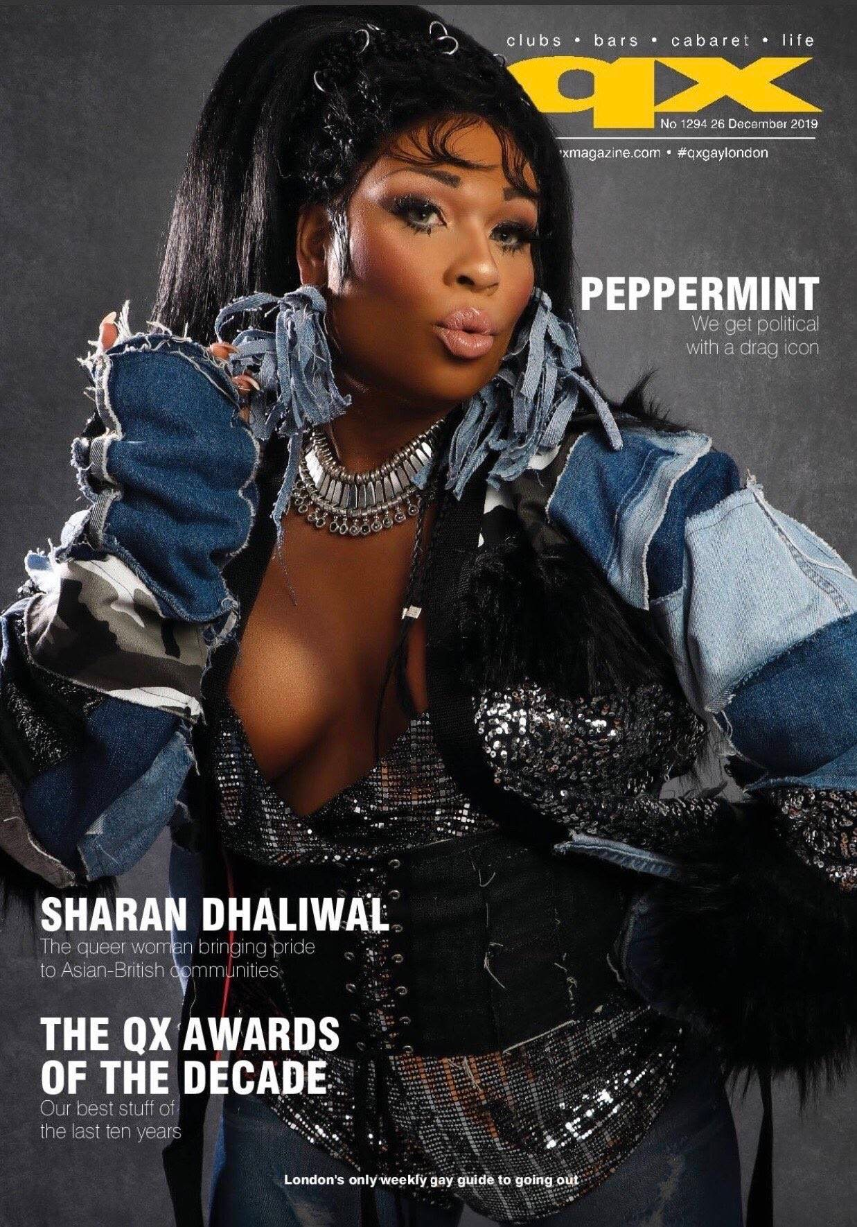 Peppermint QX Cover