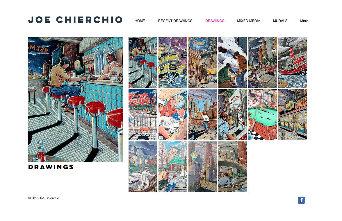 Joe Chierchio Website - Drawings