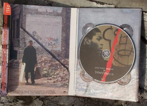 """Downtown 81"" DVD Inside"
