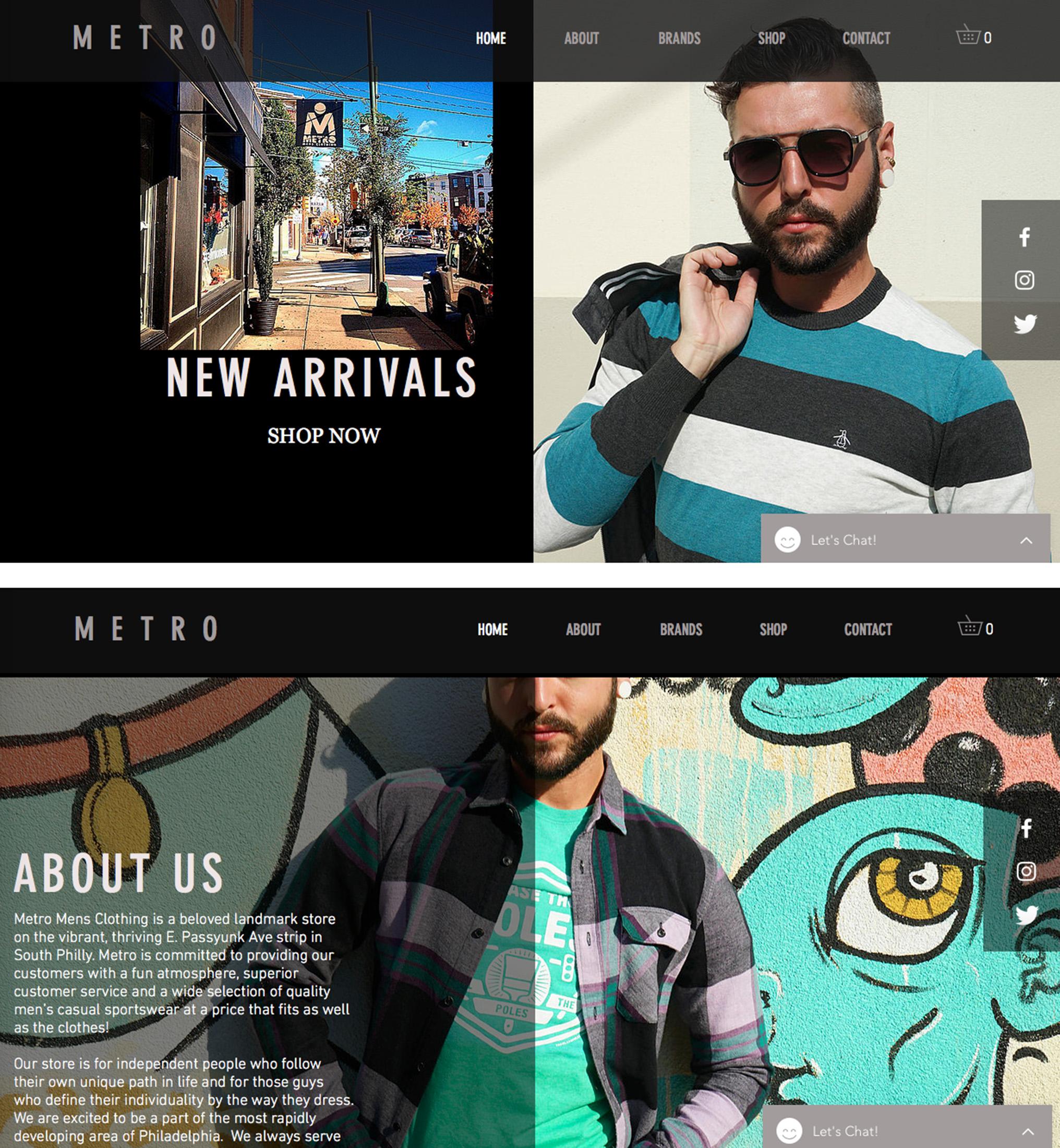 METRO Website