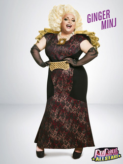 GINGER MINJ All Stars Promo Photos