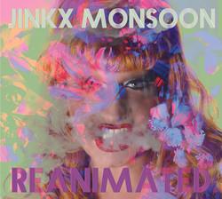 "JINKX MONSOON ""REANIMATED"" Album Art"