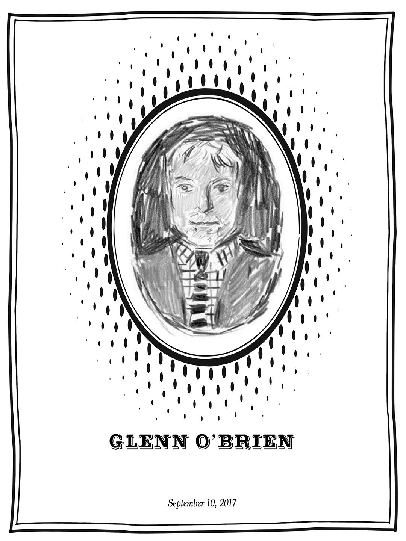 Glenn O' Brien Memorial Program