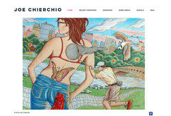 Joe Chierchio Website - Home