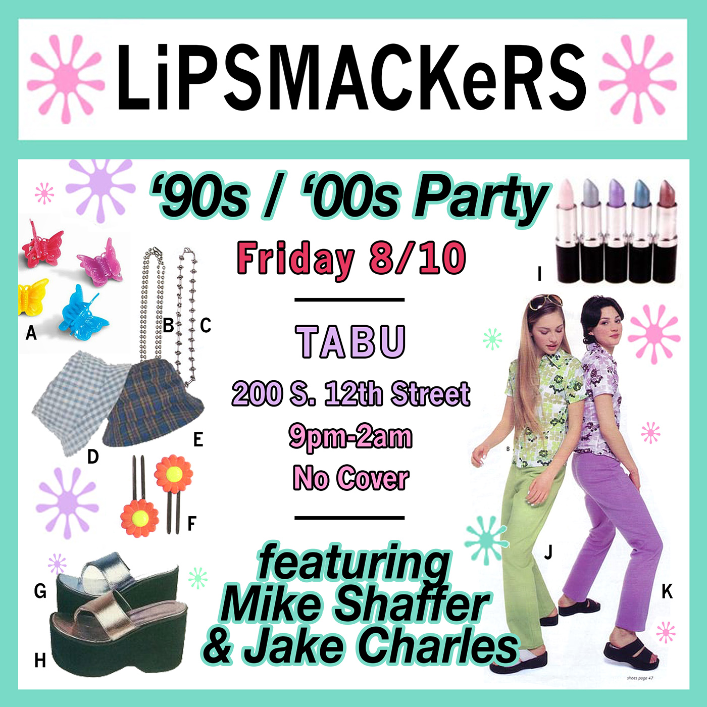 LipSmackers Party at TABU Philly