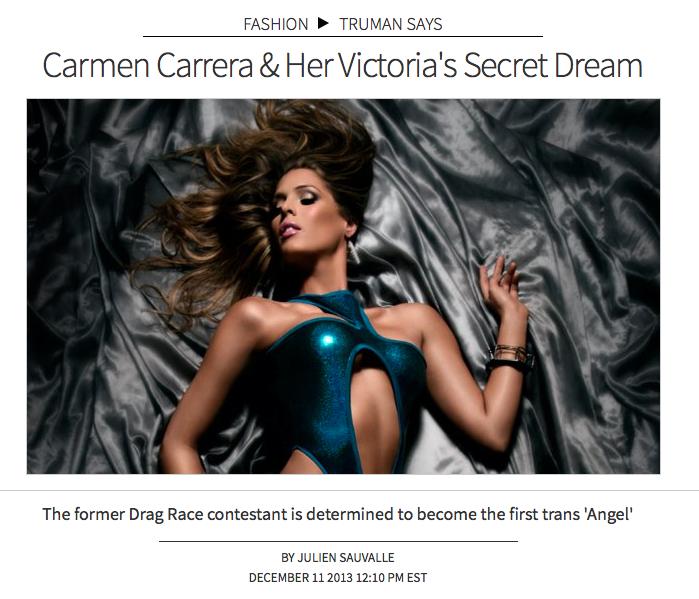 Carmen Carrera by Mike Ruiz
