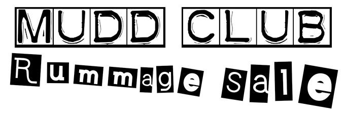 MUDD CLUB Rummage Sale Logo