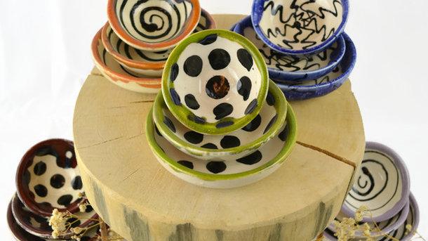 3er set Schale Keramik