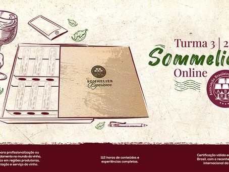 LOTADO - Curso Sommelier On-line | Turma 3