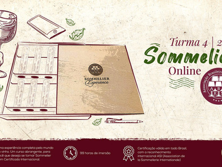 Curso Sommelier On-line   Inscrições Abertas