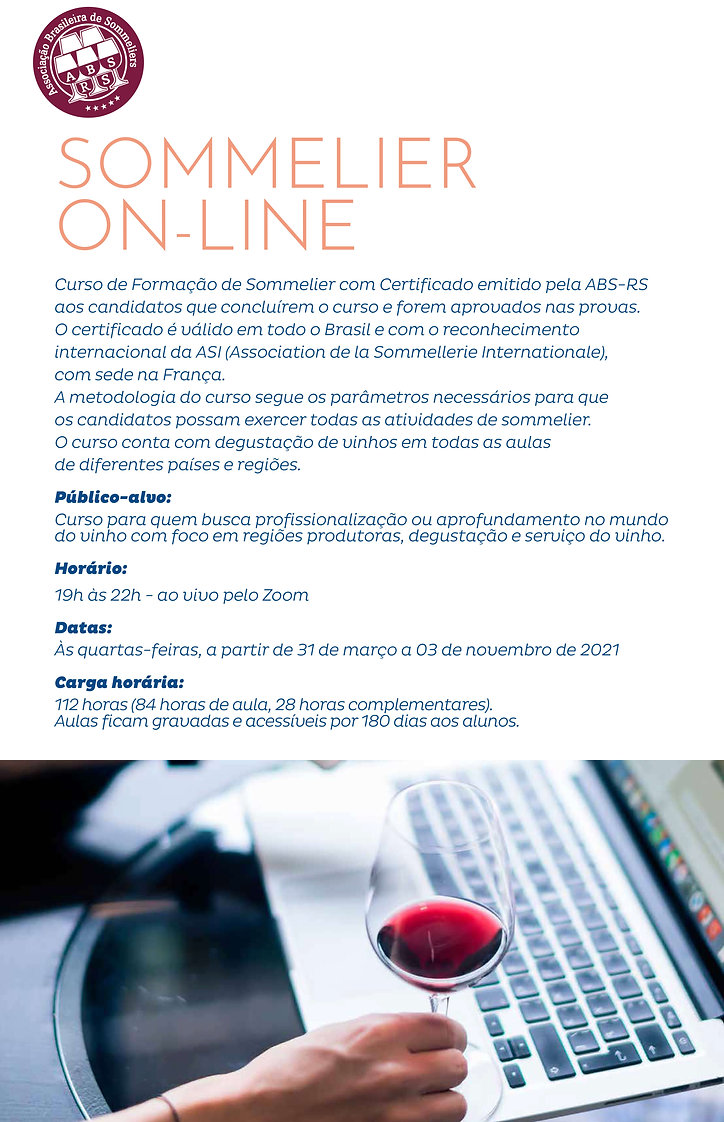 sommelier online - turma 02 - ABS-RS - P