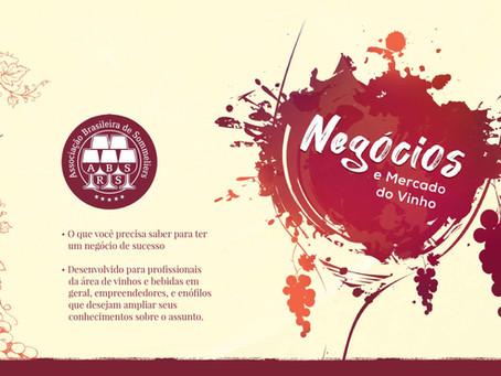ABS-RS promove curso on-line sobre Negócios e Mercado do Vinho