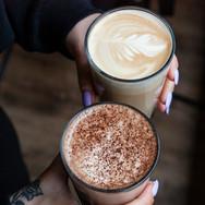 Stemningsbilde fra Racoon Coffee & More på oppdrag for Ålesund Sentrumsforening