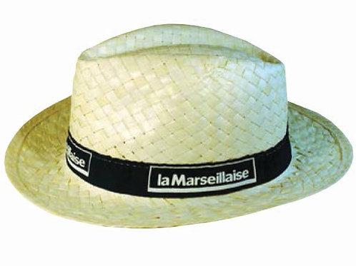 Плетеные шляпки с лентой Сомбреро классика, тираж от 250 штук