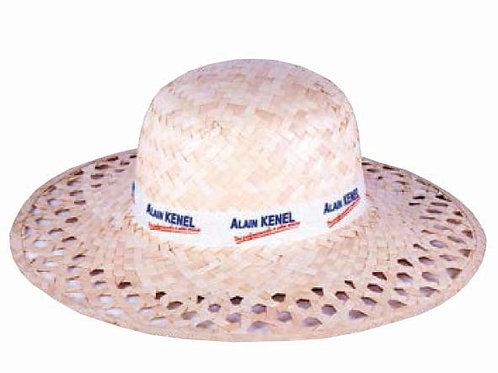 Плетеные шляпки с лентой Леди