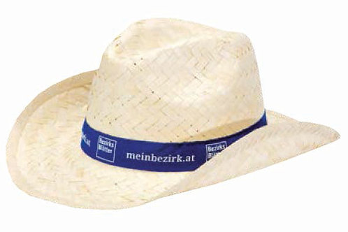 Плетеные шляпки с лентой Ковбой