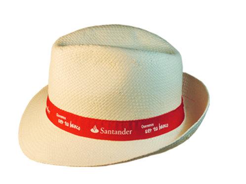 Плетеные шляпки с лентой Крестный отец