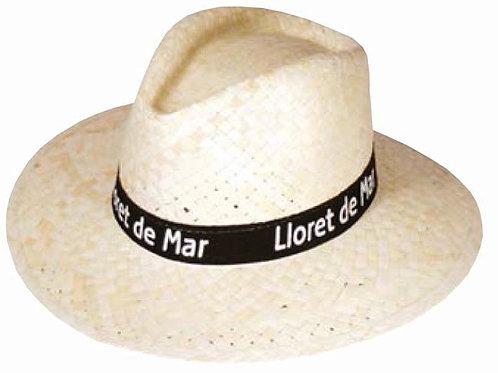 Плетеные шляпки с лентой Индиана классика