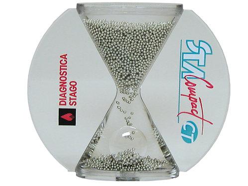 Классические песочные часы с металлическими гранулами