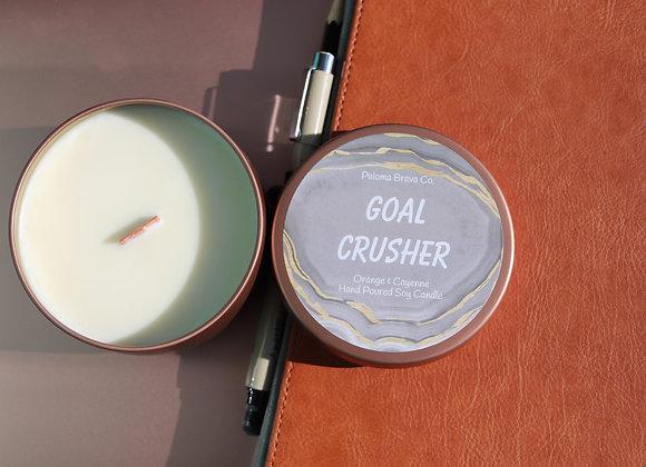 Goal Crusher  | Orange & Cayenne Soy Candle