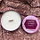 Thumbnail: Today I Will Love Myself Enough to... | Rose Petal Soy Candle