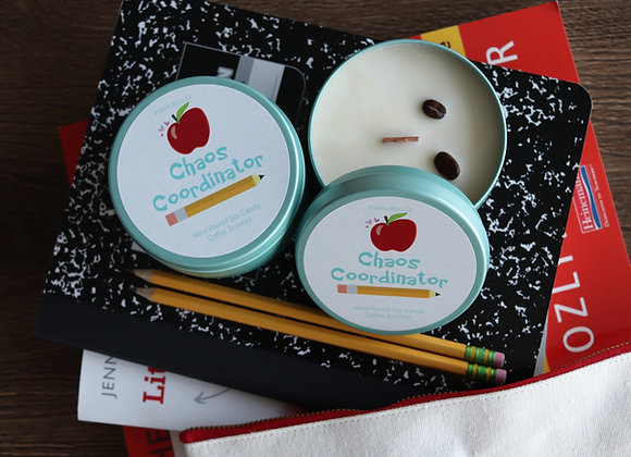 Chaos Coordinator   Coffee Soy Candle