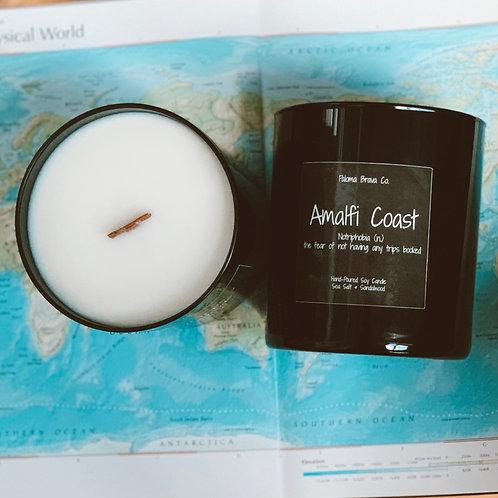 Amalfi Coast | Notriphobia | Sea Salt & Sandalwood Soy Candle
