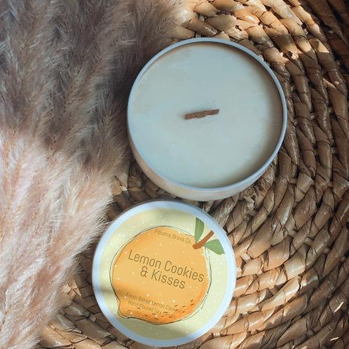 Lemon Cookies & Kisses |  Lemon Cookie Soy Candle