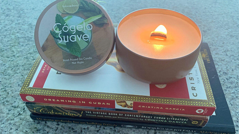 Cógelo Suave   Mint Mojito Soy Candle