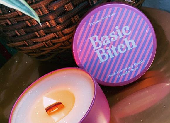 Basic Bitch | Lavender Rosé Soy Candle