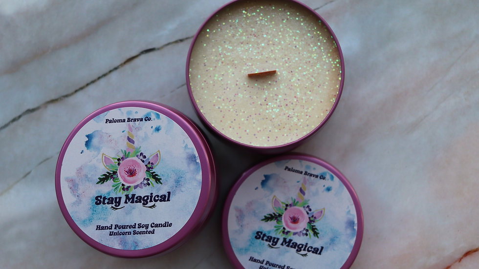 Stay Magical   Unicorn Soy Candle
