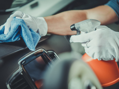How to Clean & Disinfect the Inside of Your Vehicle