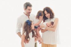 sessão recem nascido familia