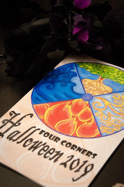 The Four Corners Halloween Zine Print Copy