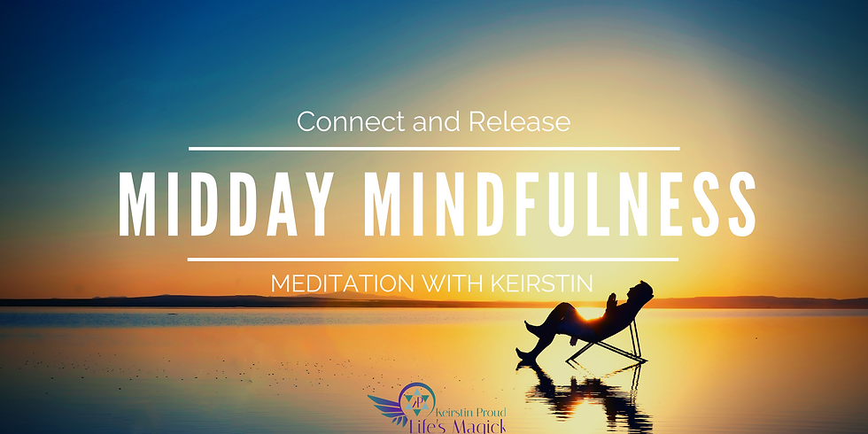 Midday Mindfulness Virtual Guided Meditation (FREE)