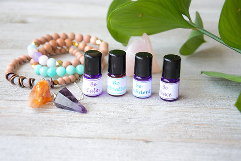 Be Well Essential Oil Synergy Blend Set