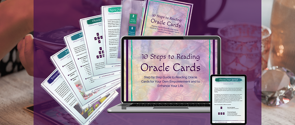 10 Steps to Reading Oracle Cards Digital